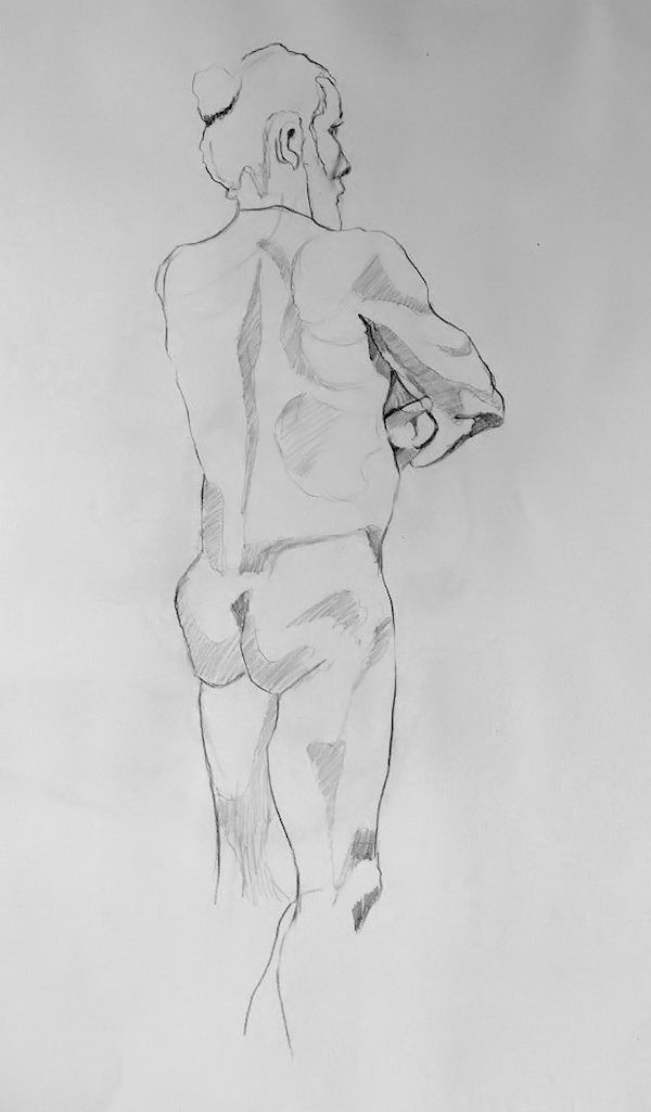Life drawing, Sandrine Pelissier