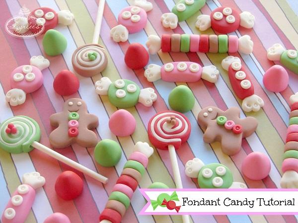 Colorful Fondant Holiday Candy - on Bluprint.com