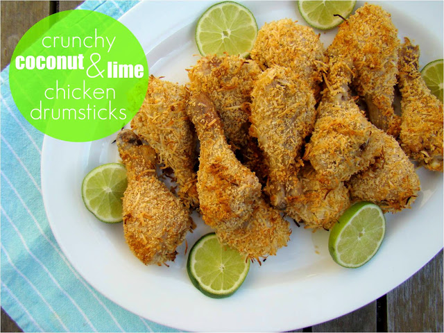 Coconut and Lime Chicken Drumsticks