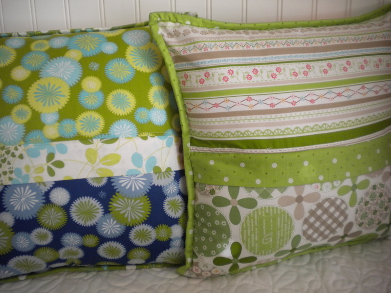 Finished Pillows, on Craftsy