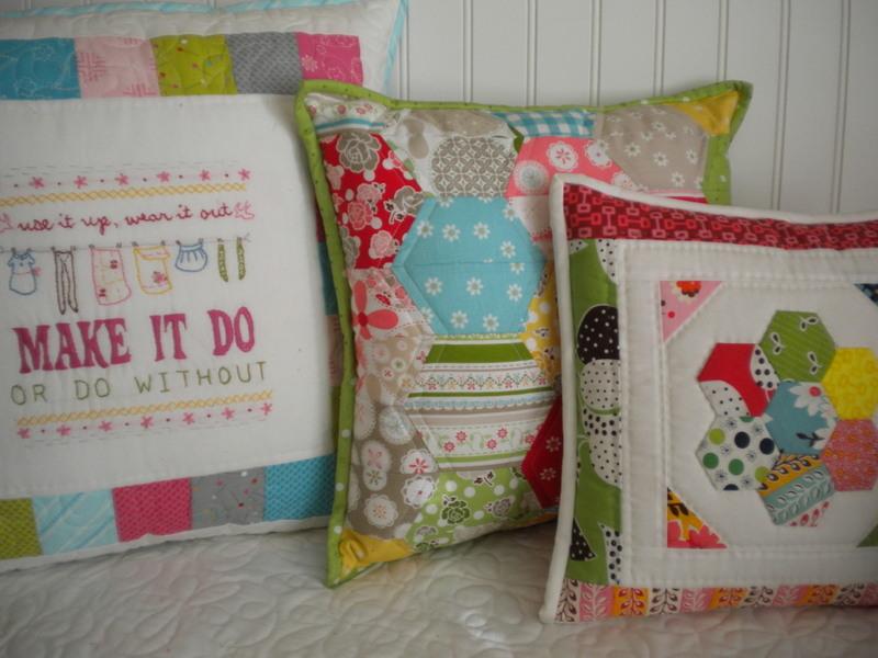 Various Patchwork Pillows