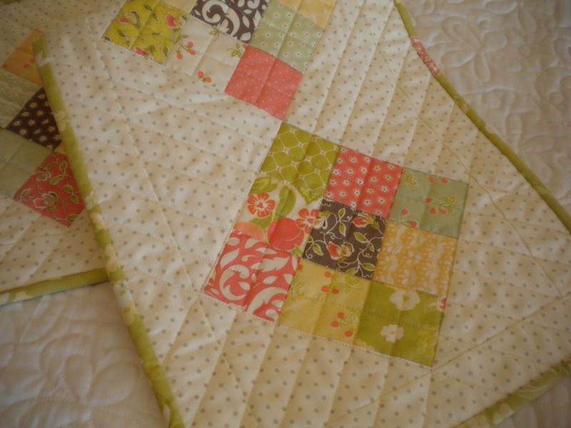Charm Pack Quilted Table Runner, in the Bluprint Pattern Store