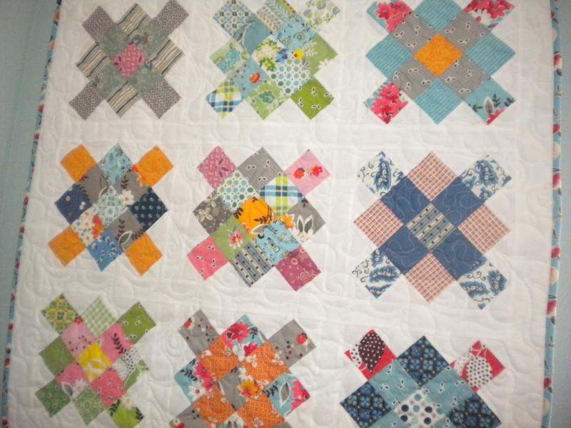 Granny Square Charm Pack Quilt on Bluprint