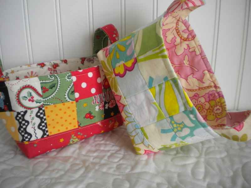 Quilted Fabric Basket - Bluprint.com