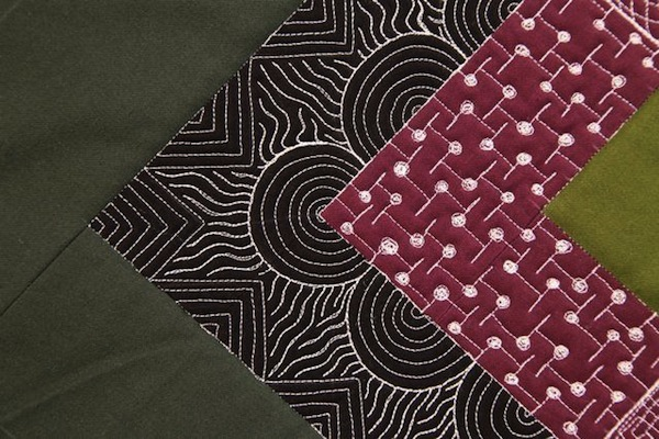 Quilt Featuring Various Free Motion Designs - on Bluprint