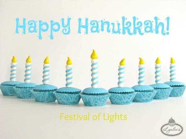 Hanukkah Cupcakes - Tutorial on Craftsy.com