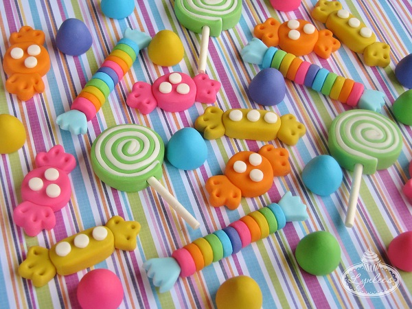 Colorful Fondant Candy