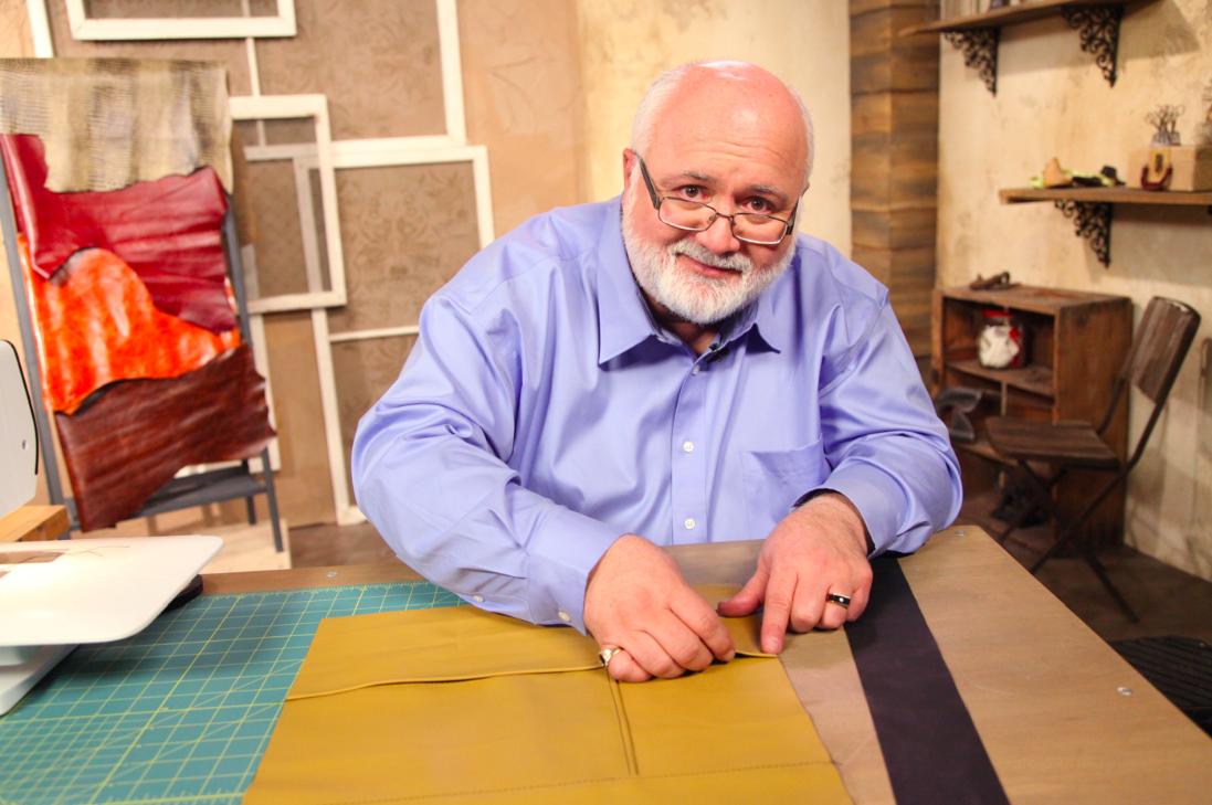 Don Morin at the Bluprint Studios