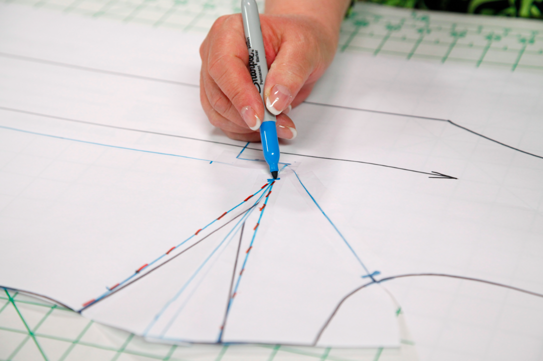 Pattern Drafting in Action - on Craftsy.com