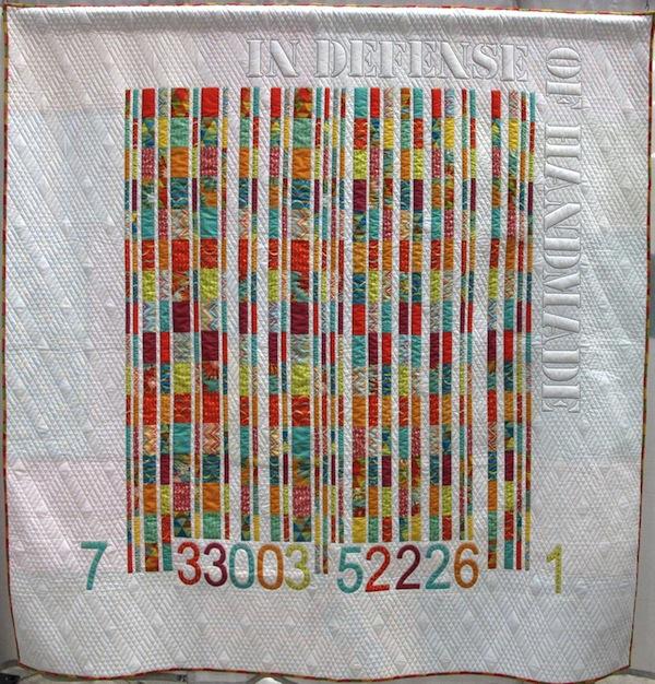 Multi-Colored Striped Quilt