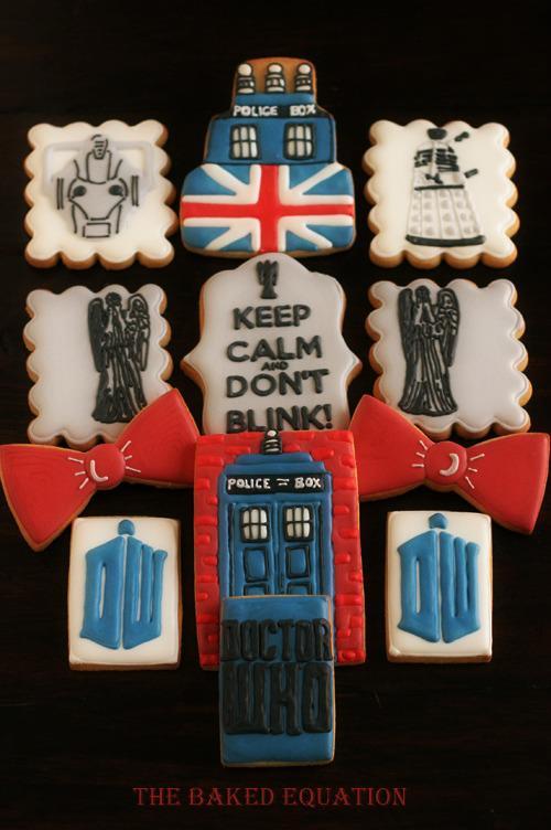 British-Themed Decorated Cookies, On Bluprint.com