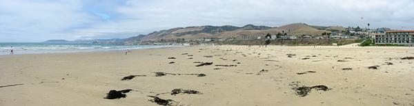 Panoramic Photo of the Beach