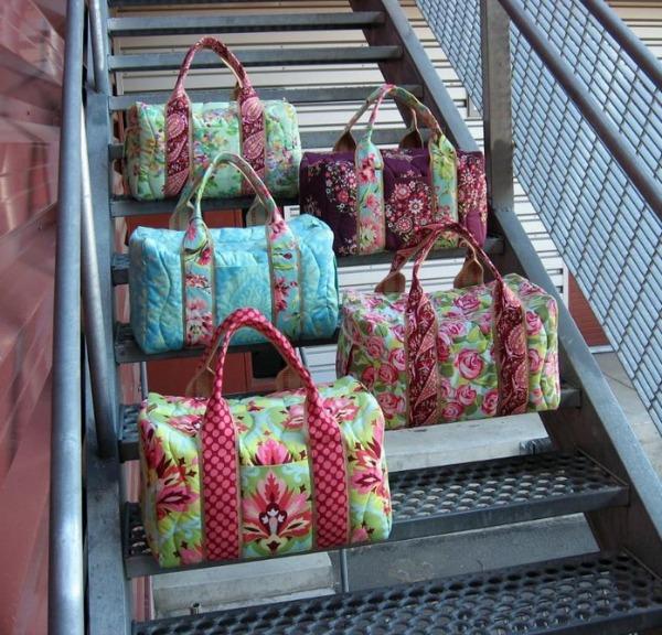 Travel duffel Bags, pattern on Bluprint