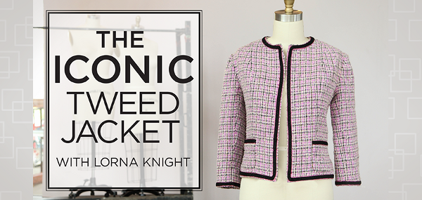 Iconic Tweed Jacket class