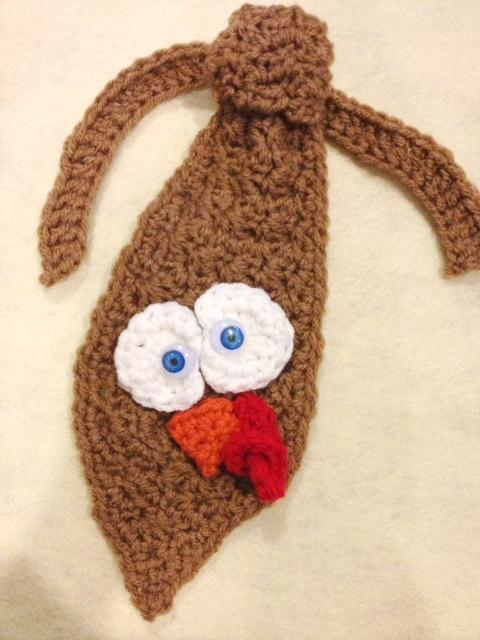 Gobble Turkey Tie, Pattern on Bluprint