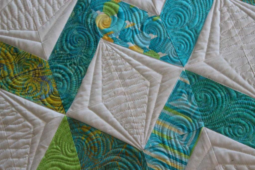 Close Up on Quilt Detail, on Craftsy