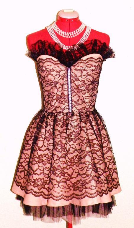 Lace Dress on Mannequin