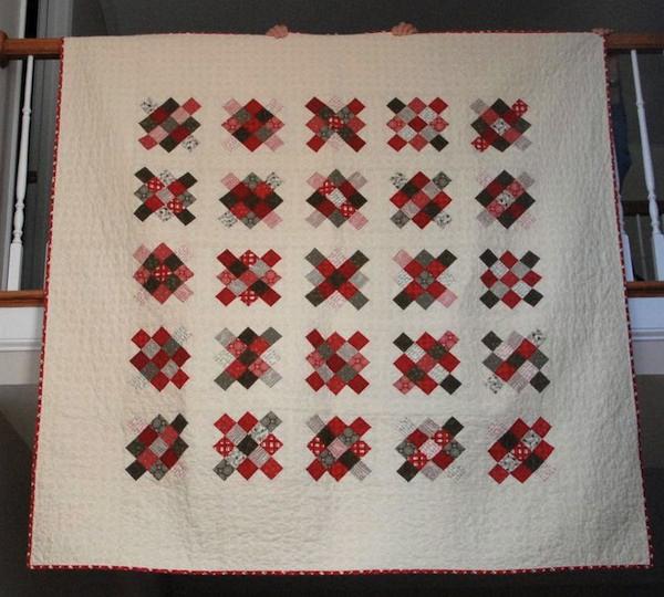 Free Christmas Granny Squares Quilt Block