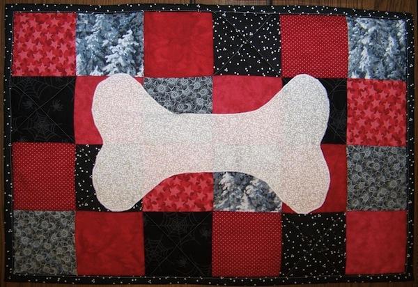 Quilt Featuring Dog Bone, on Bluprint