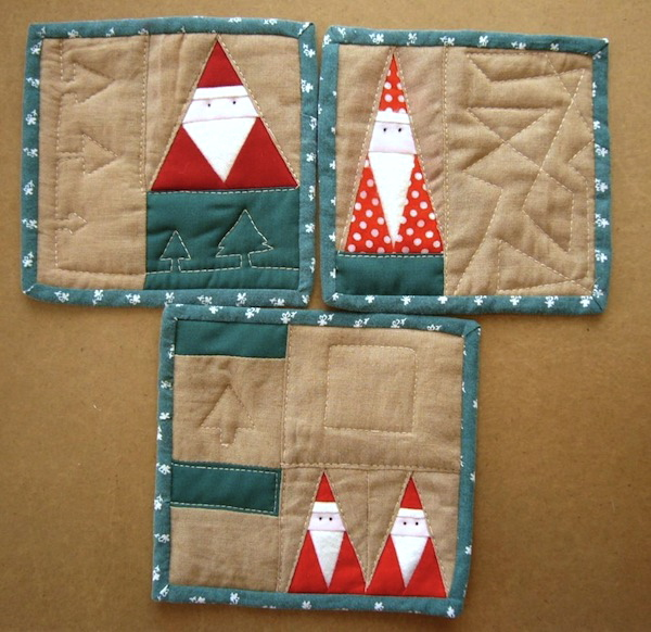 Pieced Dwarves Pattern - Free Quilting Patterns