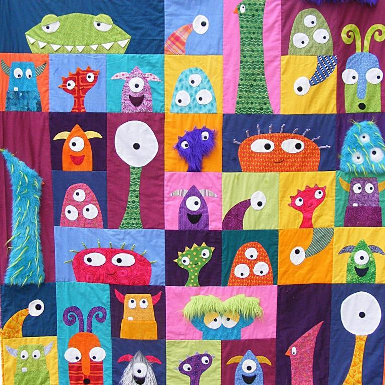 Monster Quilt - Pattern on Bluprint.com