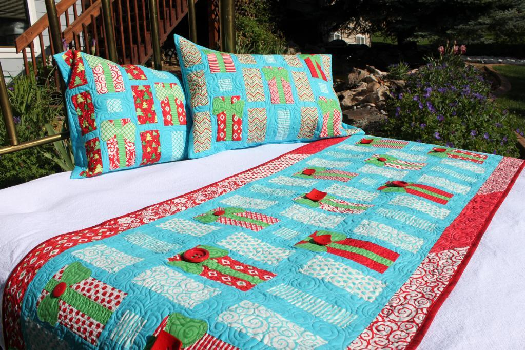 Oh My Gifts Bed Runner and Pillow Shams