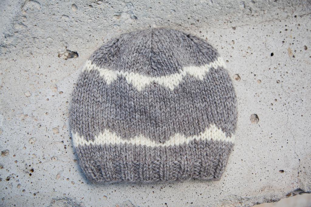 Sawtooth Knit Hat