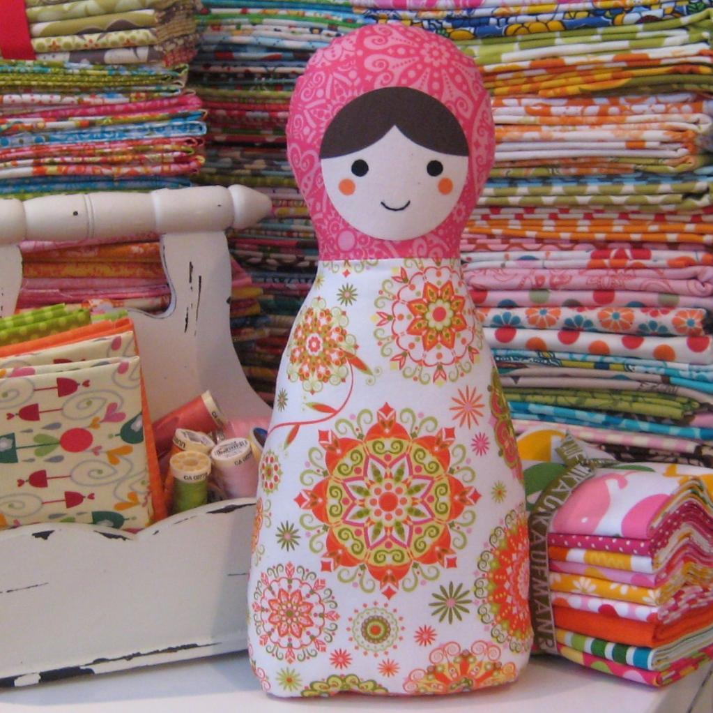 Patterned Matryoshka Doll