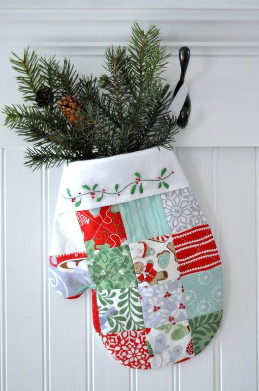 Bluprint Pattern- Quilted Stocking