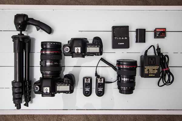 Cameras and Other Photography Equipment, Laid Out