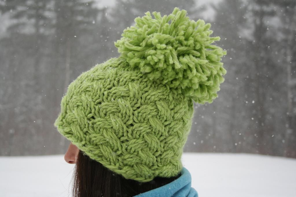 Chunky Knit Hat - www.craftsy.com free Pattern