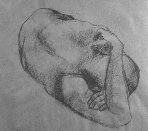 figure drawing, male