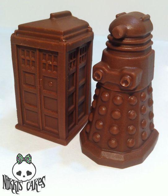 Tardis and Delik Chocolate Pairing