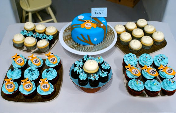 Blue Owl Cakes and Cupcakes, Craftsy via Coco Cake Land