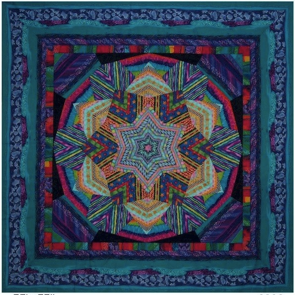 Modern Quilt by Ricky Tims
