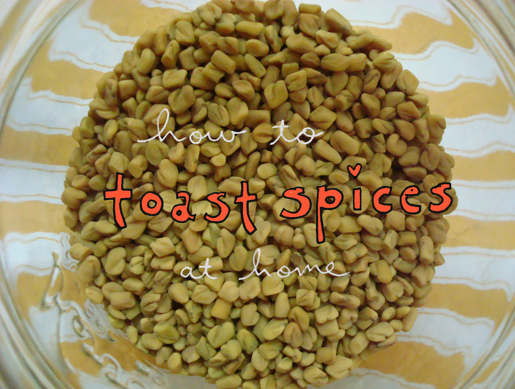 Toasted Spices - Toasting Spices on Bluprint.com