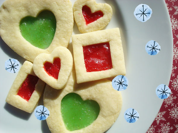 Stained Glass Cookies - Bluprint.com