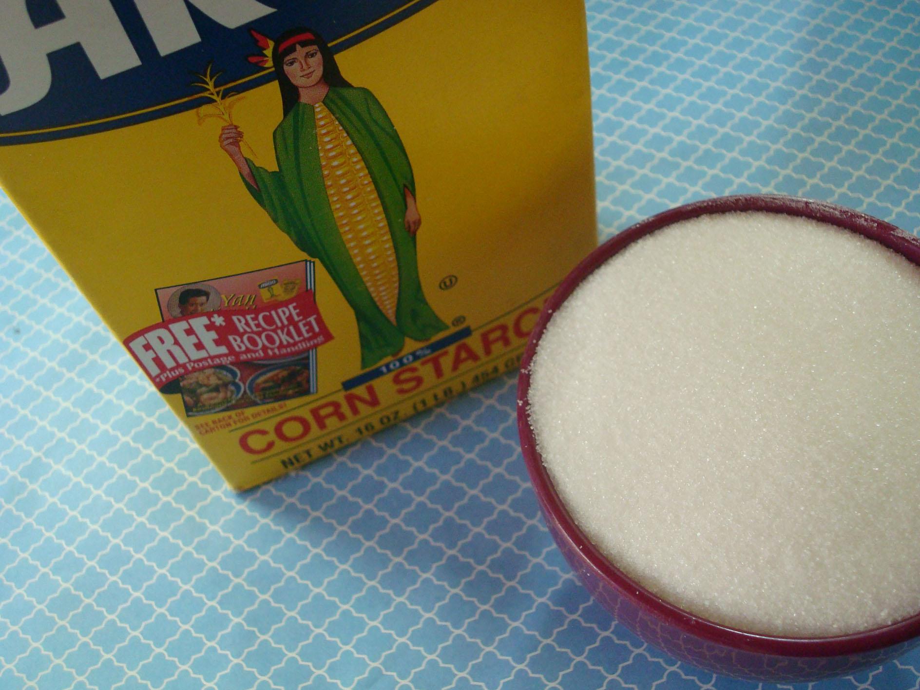 Corn Starch for Making Confectioners' Sugar