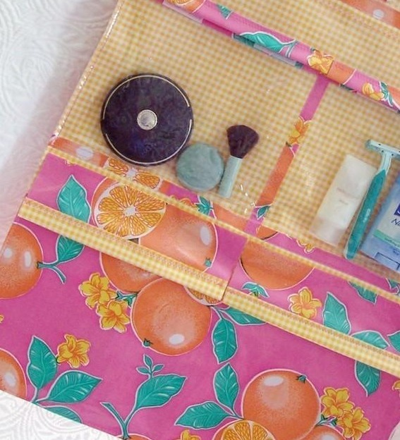 Travel Roll Toiletry Bag