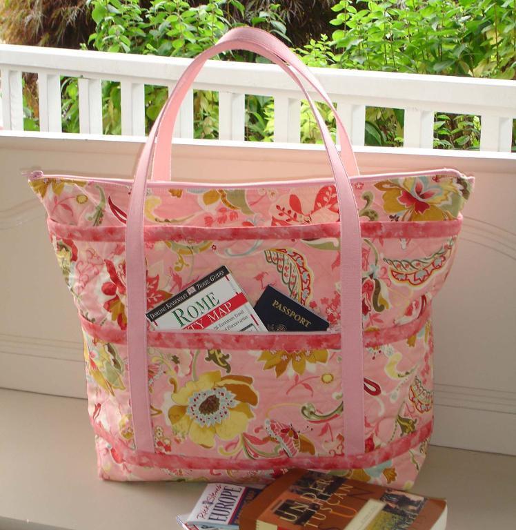 Pink Patterned Bag