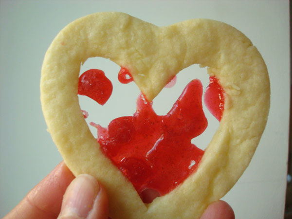 Stained Glass Cookie - www.craftsy.com
