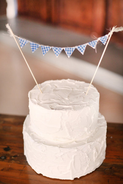 Small Tiered White Cake