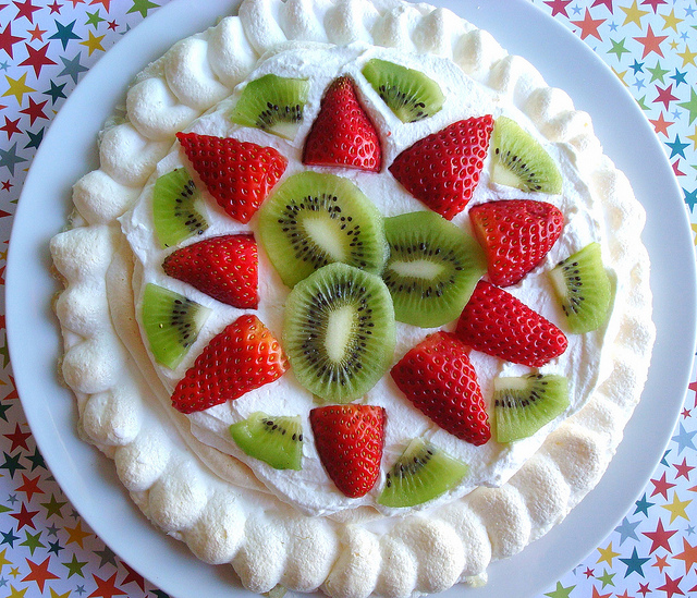 Pavlova with Fruit - Making Pavlova on Craftsy