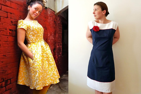 Two Different Vintage Dress