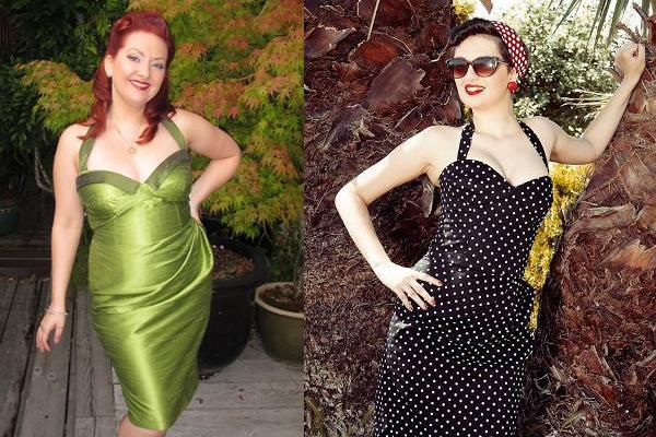 Two Retro Dresses by Bluprint.com Members
