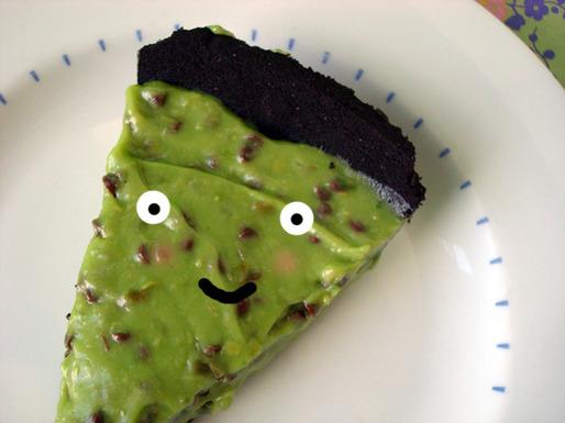 Piece of Avocado Pie