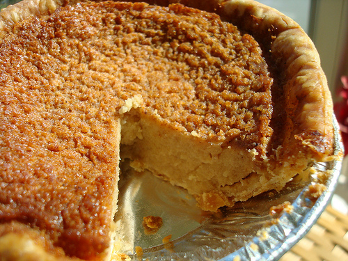 Pie Made from Navy Beans