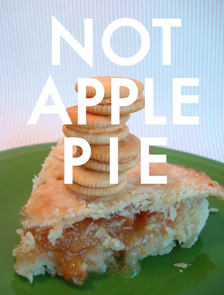 """Piece of """"Not"""" Apple Pie"""