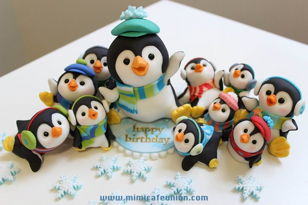 Collection of Happy Sugar Penguins