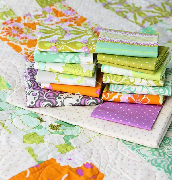 Quilting Fabric for Lottie da Quilt Kit on Bluprint